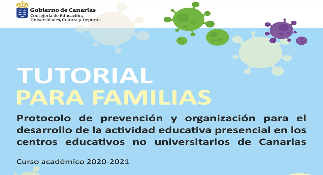Protocolo Covid para Familias Gobierno de Canarias